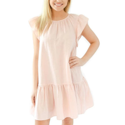 Dallas Dress Sleeveless-Women's Clothing-Strawberry Cream-XS-Kevin's Fine Outdoor Gear & Apparel