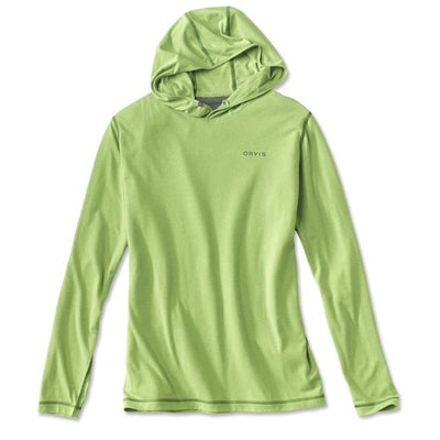 Orvis DriRelease Pull-Over Hoodie-MENS CLOTHING-Cactus-S-Kevin's Fine Outdoor Gear & Apparel