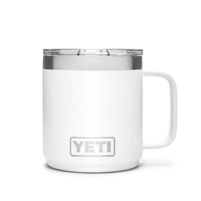 Yeti Rambler 10 oz Mug w/ Mag Slider Lid-HUNTING/OUTDOORS-WHITE-Kevin's Fine Outdoor Gear & Apparel