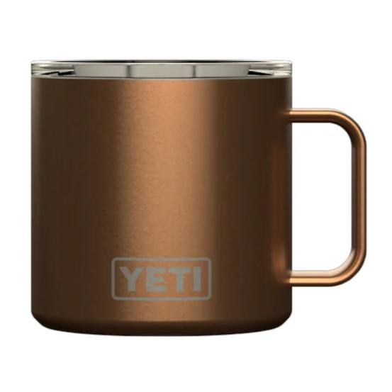 YETI Rambler 14oz. Mug-HUNTING/OUTDOORS-COPPER-Kevin's Fine Outdoor Gear & Apparel