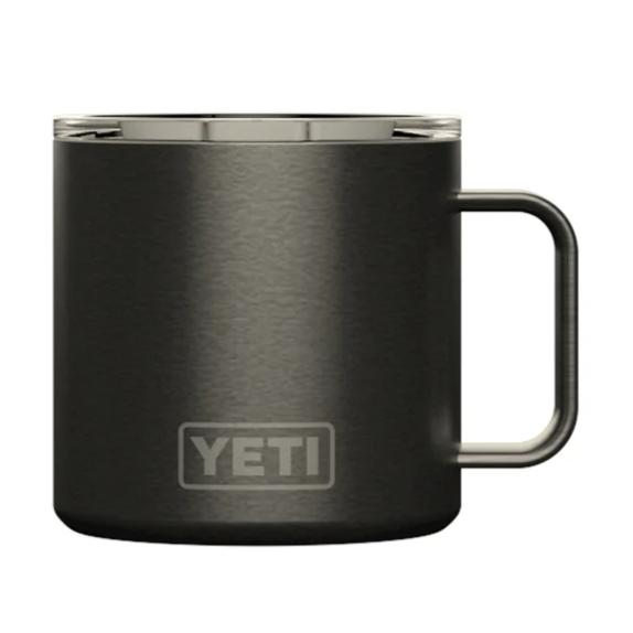 YETI Rambler 14oz. Mug-HUNTING/OUTDOORS-GRAPHITE-Kevin's Fine Outdoor Gear & Apparel