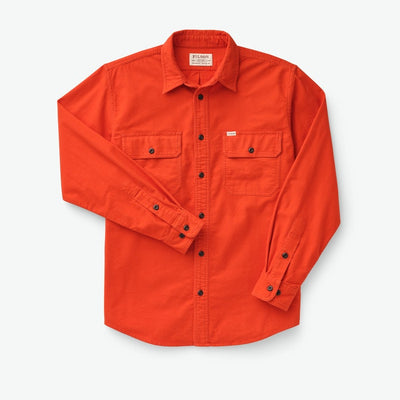 Filson Field Flannel Shirt-MENS CLOTHING-PHEASANT RED-M-Kevin's Fine Outdoor Gear & Apparel