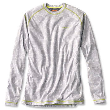 Orvis DriRelease Camo Long Sleeved Shirt-MENS CLOTHING-Water Vapor-M-Kevin's Fine Outdoor Gear & Apparel