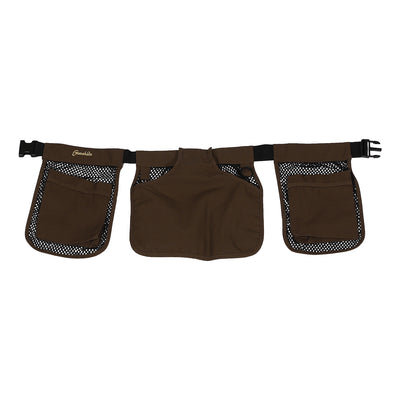 Gamehide Ultra Lite Gamebird Dove Shell Belt-HUNTING/OUTDOORS-Dark Brown-Kevin's Fine Outdoor Gear & Apparel