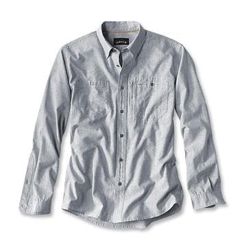 Orvis Flat Creek Shirt 2R6B-MENS CLOTHING-M-Navy-Kevin's Fine Outdoor Gear & Apparel
