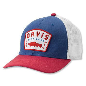 Orvis Upstream Trucker Cap-Men's Accessories-Kevin's Fine Outdoor Gear & Apparel