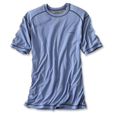 Orvis DriRelease Short Sleeved Shirt-MENS CLOTHING-Bright Cobalt-M-Kevin's Fine Outdoor Gear & Apparel