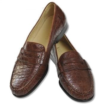 Kevin's Genuine Caiman Loafer
