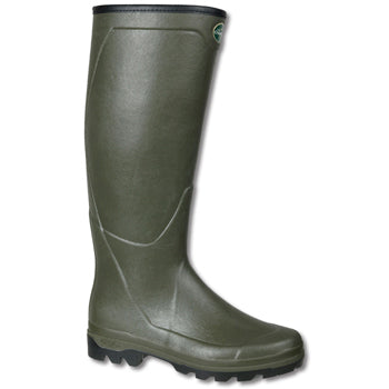 Le Chameau Men's Country XL Jersey Lined Boot-FOOTWEAR-OLIVE-US10/EU43-Kevin's Fine Outdoor Gear & Apparel