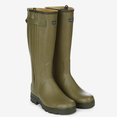 Le Chameau Men's Chasseur Boots-FOOTWEAR-OLIVE-US10/EU43-Kevin's Fine Outdoor Gear & Apparel