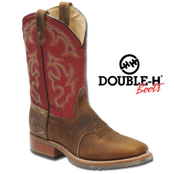 Double-H Boots - Wide Square ICE Roper