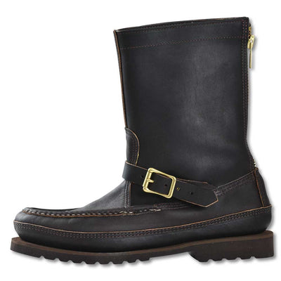 Russell Men's Zephyr II Zipper Boot - Fleshy Leather-FOOTWEAR-Dark Chocolate-10-D-Kevin's Fine Outdoor Gear & Apparel
