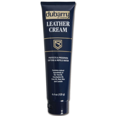 Dubarry Leather Cream Blue Tube