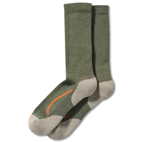 Filson X Country Outdoorsman Sock-FOOTWEAR-GREEN/BLAZE-L-Kevin's Fine Outdoor Gear & Apparel