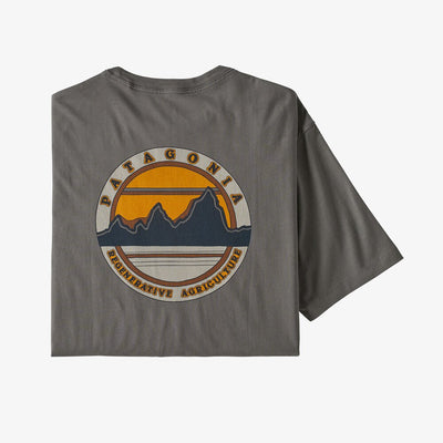 Patagonia Road To Regeneration Pocket Tee-MENS CLOTHING-S-Nobel Grey-Kevin's Fine Outdoor Gear & Apparel