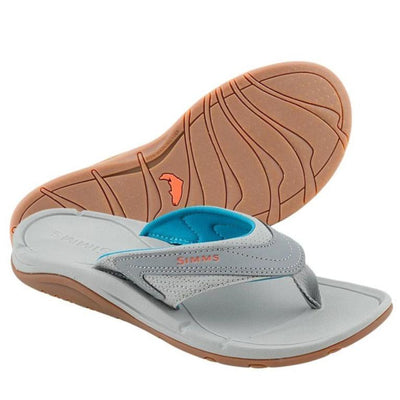 SIMMS Ladies Atoll Flip Flop-FOOTWEAR-Simms Fishing Products-LAGOON-10-Kevin's Fine Outdoor Gear & Apparel