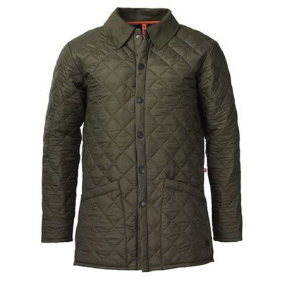 Laksen Goodrich Jacket Olive Front-MENS CLOTHING-OLIVE-S-Kevin's Fine Outdoor Gear & Apparel