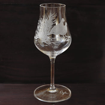 Kevin's Crystal Cordial Glass - 6 oz.-HOME/GIFTWARE-Evergreen Crystal , Inc.-BLACK LAB-Kevin's Fine Outdoor Gear & Apparel