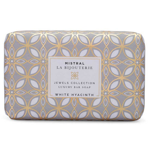 Mistral Ladies Bar Soap-HOME/GIFTWARE-Mistral Soap-WHITE HIACYNTH-Kevin's Fine Outdoor Gear & Apparel