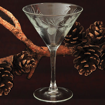 Pinecone Glassware - 10 oz. Martini