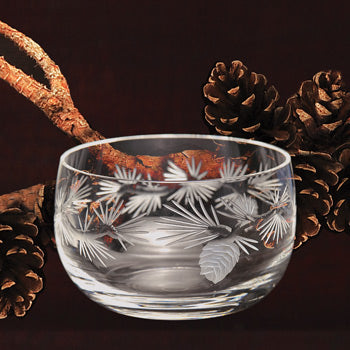 Pinecone Glassware - Small Bowl