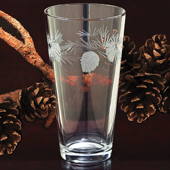 Pinecone Glassware - Ice Tea 16 oz.