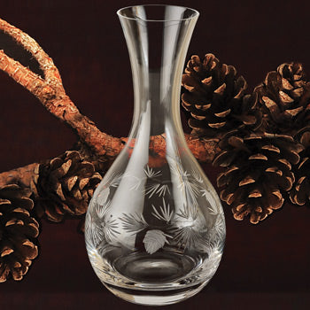 Pinecone Glassware - Wine Carafe 42 oz.