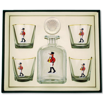 Richard Bishop Snooty Fox Decanter Set