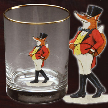 Snooty Fox 14 oz Double Old Fashioned Set of 4