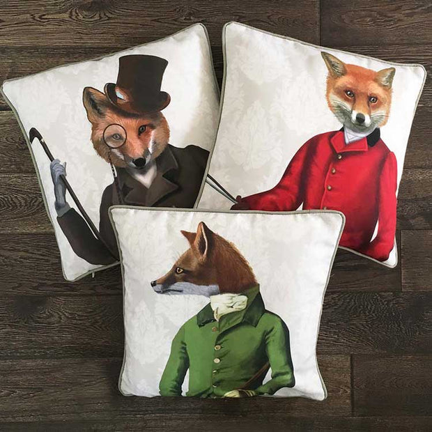 Woodland Critters 18 x 18  Pillow Case