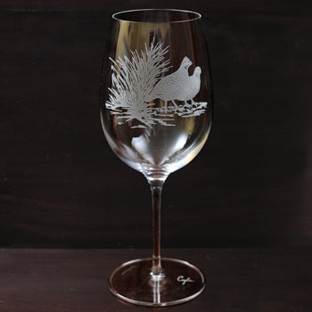 Kevin's Crystal Wine Glass - 26 oz.