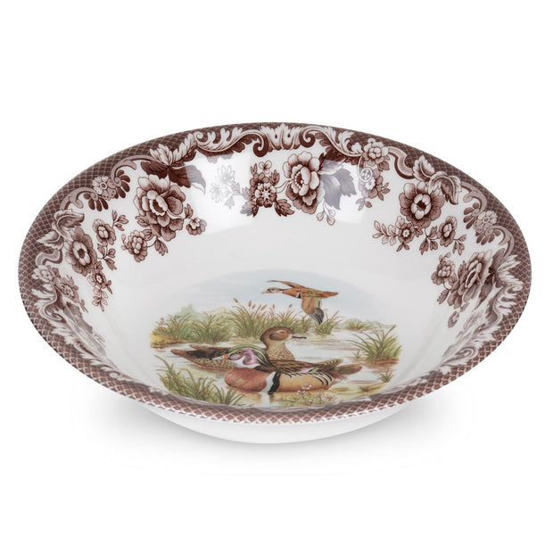 Spode Woodland Bird Cereal Bowl-WOOD DUCK-Kevin's Fine Outdoor Gear & Apparel