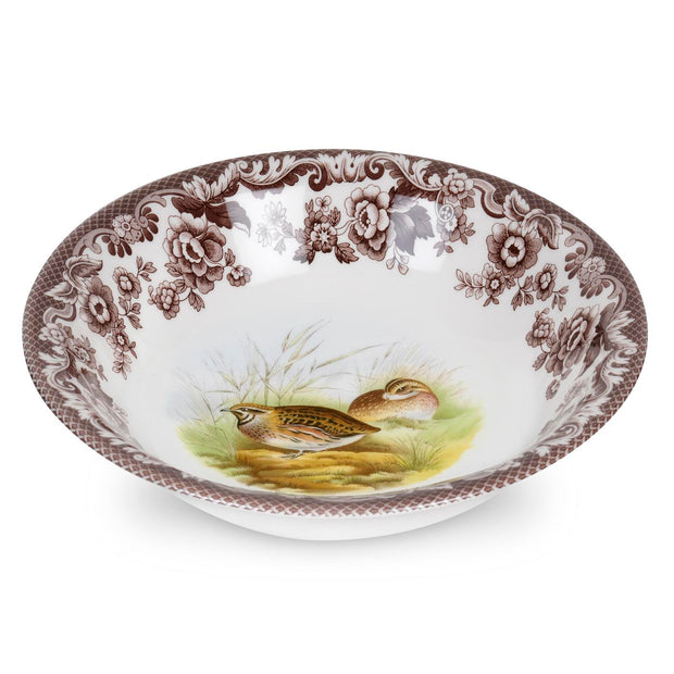 Spode Woodland Bird Cereal Bowl-QUAIL-Kevin's Fine Outdoor Gear & Apparel
