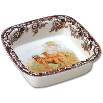 Spode Hunting Dog Oven To Table Square Dish