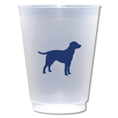 Kevin's Custom Shatterproof 16 oz Cups (8 pack)-HOME/GIFTWARE-Alexa Pulitzer-BLUE LAB-Kevin's Fine Outdoor Gear & Apparel