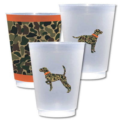 Kevin's Camo Custom Cups 8 Pack