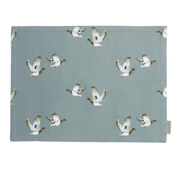 Fabric Placemats - Foxes or Pheasants or Ducks-HOME/GIFTWARE-DUCKS-Kevin's Fine Outdoor Gear & Apparel