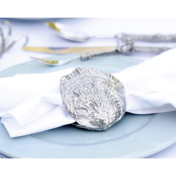 Vagabond House Clam Shell Napkin Ring