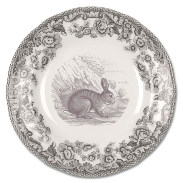 Spode 6 in Bread and Butter Plate with Rabbit