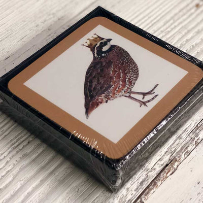 Kevin's Hard Cork backed Coasters 4 pack