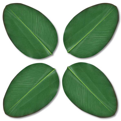 Banana Leaf Coaster 4 Pack