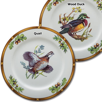 Gamebird Luncheon Plate