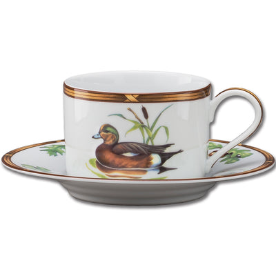 Gamebird 8 oz. Cup & Saucer