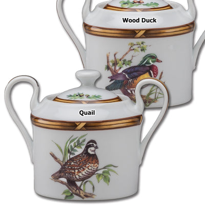 Gamebird Sugar Bowl with Lid