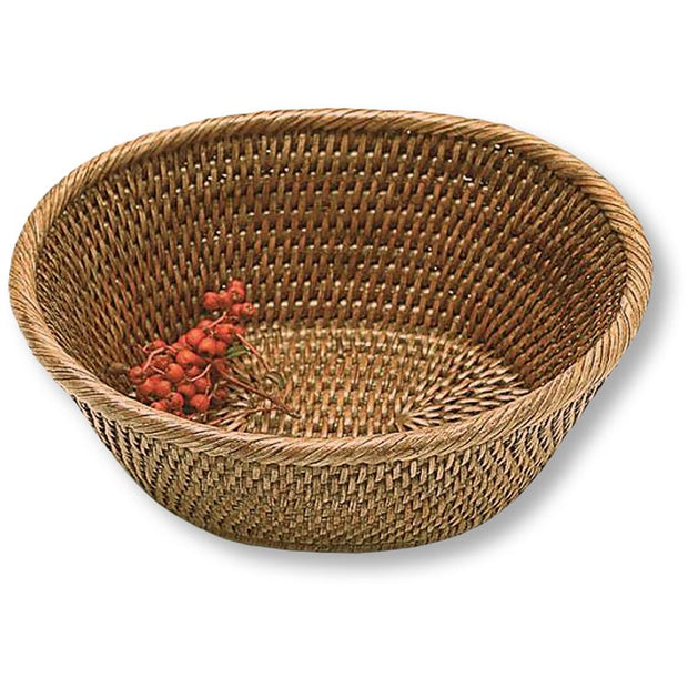Vintage Concepts Oval Bread Basket 9x8x4