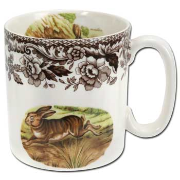 Spode Woodland Rabbit Mug 9 Oz.