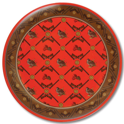 Kevin's Exclusive Crossed Guns Melamine Platter