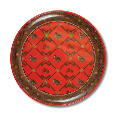 Kevin's Exclusive Quail and Crossed Guns Melamine Plate