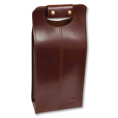 Kevin's Leather 2 Bottle Tote