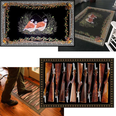 Kevin's 5ft x 8ft Vinyl Floor Cloth-HOME/GIFTWARE-Spicher & Co.-FOX & HORN-Kevin's Fine Outdoor Gear & Apparel